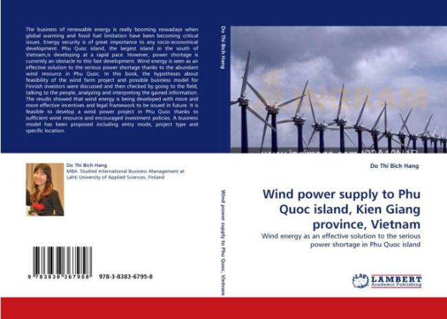 Phu Quoc island wind power project in Vietnam