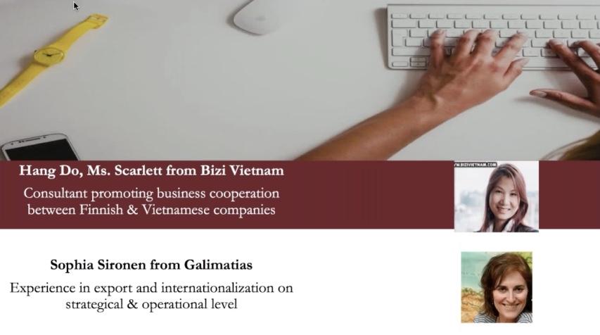 Finland Vietnam business webinar Helsinki 2017