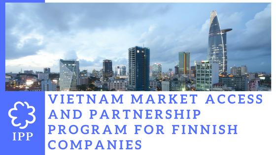 Vietnam Market Access and Partnership Programme (VMAP) for Finnish Companies