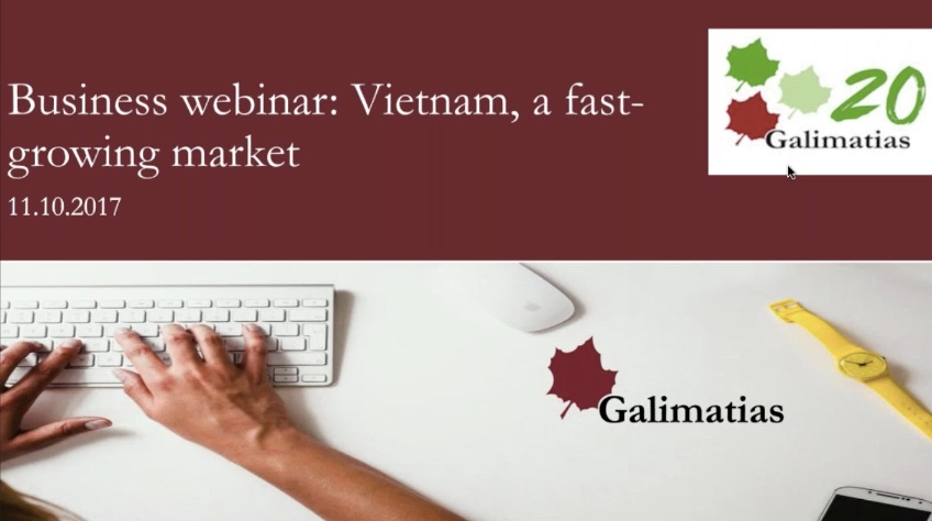 Finland Vietnam Business Webinar in Helsinki, October 2017