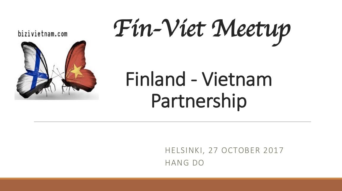 Finland Vietnam Partnership