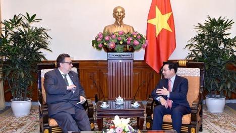 Finland Vietnam cooperation 2018
